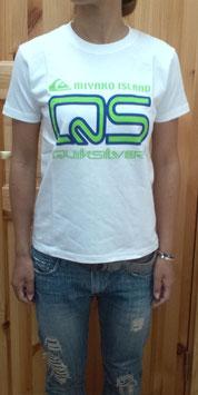 SEADANCER&QUIKSILYERコラボTシャツ2010(白