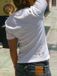 SeaDancer&ROXY コラボTシャツ 2010(白)