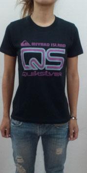 SEADANCER&QUIKSILYER コラボTシャツ2010(黒)