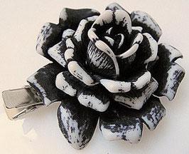handbemalte Blüten Klemme