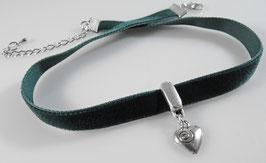 zartes Herz`chen Halsband
