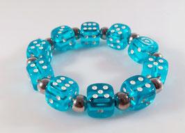 Transparente Würfel Armbänder