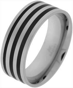 AKZENT Steel Ring, Gr. 62 oder 64