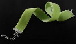 Samt Halsbänder (22 mm)