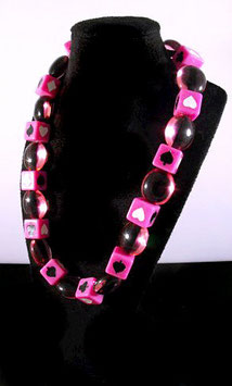 Damen Sixties Würfel Halskette