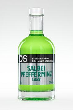 Salbei Pfefferminz Likör