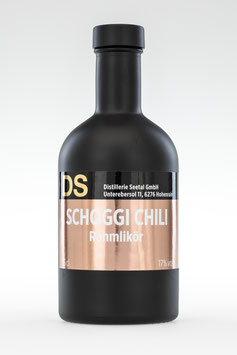 Schoggi-Chili Likör