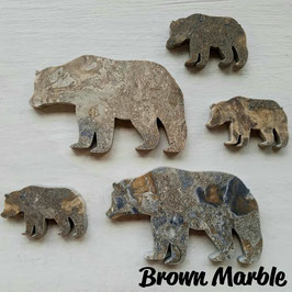 Brown Marble Bear Tiles