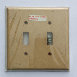 Noce Double Switch Plate
