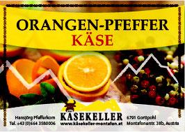 Orangen Pfeffer Käse