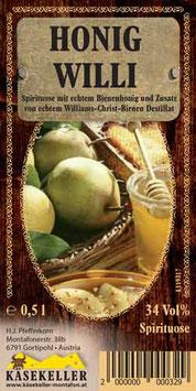 Honig Willi 0,5 ltr.