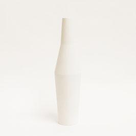 Flaschenvase weiß