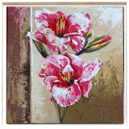 """""""Fleurs"""" - 40 x 40"""