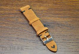 Velourslederband VINTAGE 20mm passend für Rolex