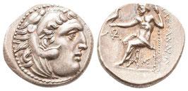 Alexander III. der Große  - Drachme - Lampsakos - stfr.