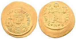 Mauricius Tiberius - Solidus - Constantinopel - f.vzgl.