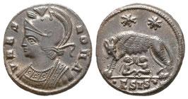 URBS ROMA - Constantin I - Follis - Siscia - vzgl.