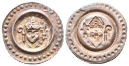 Konstanz - Eberhard II. - Brakteat - feine Patina - vzgl.