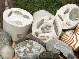Fossilienblock (Mittel)