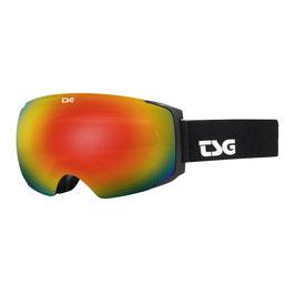 TSG Skibrille GOGGLE TWO SCHWARZ / SOLID BLACK / RAINBOW CHROME