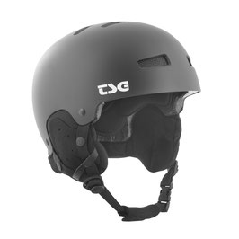 TSG Helm Gravity Solid Color Schwarz Matt