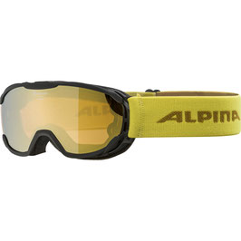 ALPINA SKIBRILLE PHEOS JR. HM, black-curry, mirror gold