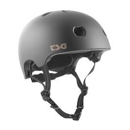 TSG Helm Meta Solid Color Satin Schwarz