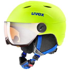 UVEX  Skihelm Visor Pro / Neon yellow mat