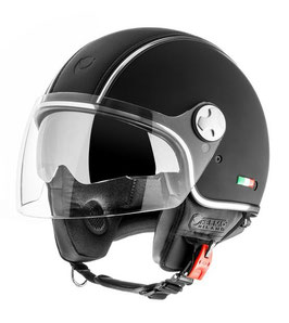 Helmo Helm Pelledura Premium Schwarz