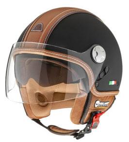 Helmo Helm Pelledura Premium Braun