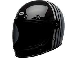 BELL Bullitt DLX Helm Reverb Gloss Black / Silver Flake