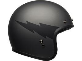BELL Custom 500 DLX Helm Thunderclap Matte Gray Black