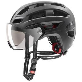Uvex Helm FINAL VISOR SCHWARZ