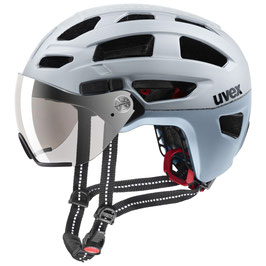 Uvex Helm FINAL VISOR SILVER MATT