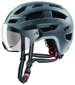 Uvex Helm FINAL VISOR Strato Steel