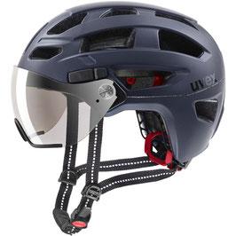 Uvex Helm FINAL VISOR DARK BLUE