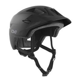 TSG Helm Cadete Schwarz Matt