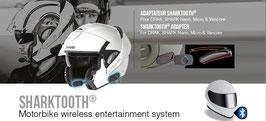 Shark Tooth / Kommunikationssystem für Motorradhelm