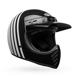 BELL Moto-3 Helm Reverb Gloss White Black