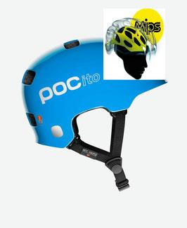 POC POCITO CRANE (MIPS) FLUORECENT BLUE