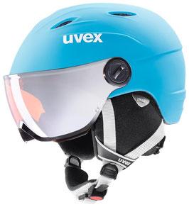 UVEX  Skihelm Visor Pro / lite blue-white