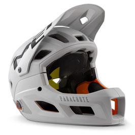 MET Downhill Helm Parachute MCR / WEISS GRAU