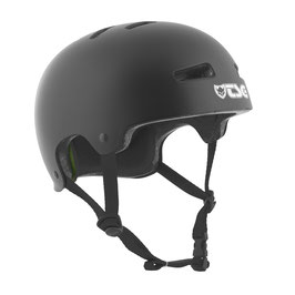 TSG Helm Evolution Satin Schwarz
