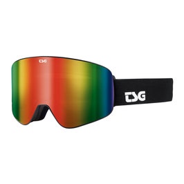 TSG Skibrille GOGGLE FOUR - SOLID BLACK / RAINBOW CHROME