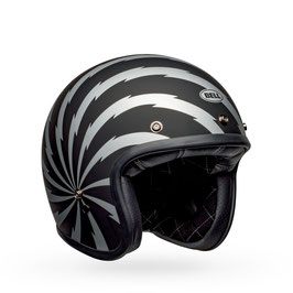 BELL Custom 500 DLX SE Helm Vertigo Matte Black / Silver