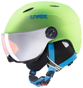 UVEX Junior Visor Pro / apple green matt