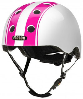 Melon HELM URBAN ACTIVE DOUBLE PINK WHITE