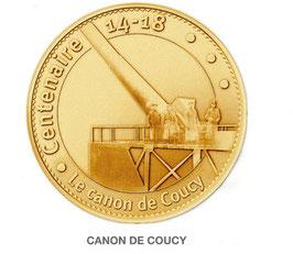 Médaille touristique Canon de Coucy