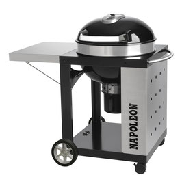 Napoleon Rodeo Proffessional Holzkohlegrill 57 cm mit Wagen