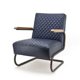 COBRA _ Design Sessel Royal Blau